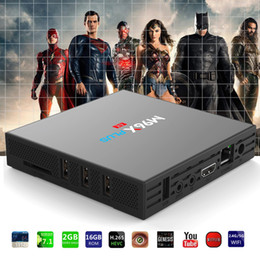 Chinese  S912 TV BOX M96X Plus 2GB 16GB Octa core TV BOX Android 7.1 Dual AC WiFi BT4.0 1000M Lan CODI KD17.3 installed OTT TV Boxes manufacturers