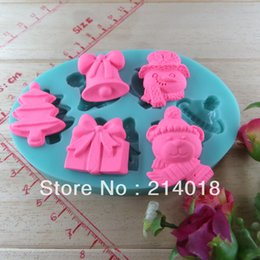 Silicon Fondant NZ - Christmas chocolate silicon mold fondant Cake decoration mold fondant cake mold (si263)
