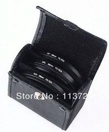Lens Filter 52mm Canada - Lens cap +Lens Hood+52mm UV CPL FLD Filter Set for Nikon D600 D3200 D3100 D3000 D7000 D5100 D80 D300S DSLR Camera
