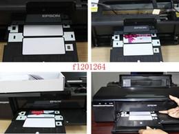 Venta al por mayor de Envío gratis Bandeja de tarjeta de identificación de PVC para impresora Espon T60 T50 R280 R380 A50 P50 R260 R265 R270 R285 R290 R680