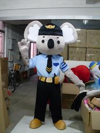 $enCountryForm.capitalKeyWord Canada - Police Koala Mascot Costume fancy dress 2016 Hot selling adult festval birthday