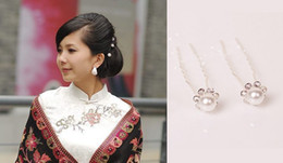 $enCountryForm.capitalKeyWord Canada - New Bridal Hair Accessories Flowers Beads Bride Hair Pearl Pins U Wedding Dresses Accessory Charming Headpieces