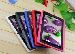 """Packaging Tablet NZ - 7"""" Q88 A33 quad Camera 7 inch tablet pc android 4.4 better Best Selling Free Shipping Discounted Newest retail packaging"""