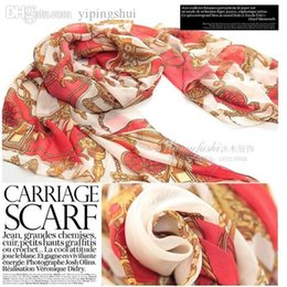cape scarfs Canada - Wholesale-2015 Hot Fashion Women Patchwork Cape Shawl Carriage Noble Scarf Winter Chiffon Scarves Wrap Shawl S14