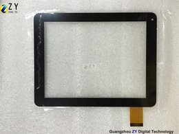 capacitive touch screen tablet pc NZ - High quality 8 inch Tablet PC Capacitive Touch Screen touch panel digitizer CTP095-080-A ZY TOUCH
