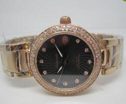 $enCountryForm.capitalKeyWord Canada - Fashion Designer Mens Stainless Steel Watches Date Luxury Top Brand Rose Gold 18K Diamond Bezel Black Faces Men Quartz Wristwatches Gift Box