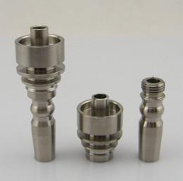 gh qualité New 10mm Male titanium domeless clou vs titane Carb Cap, ongles en céramique, expédition rapide en Solde