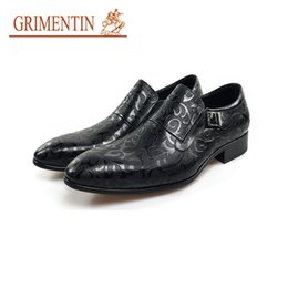$enCountryForm.capitalKeyWord NZ - GRIMENTIN Hot sale men dress shoes Italian fashion designer black brown mens oxfords genuine leather buckle office formal mens shoes OM