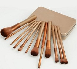 Makeup Cosmetic 12pcs Brushes Set Powder Foundation Eyeshadow Lip Brush Tool VD524 W0.5 SYSR