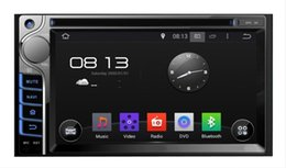 Android Car Control Canada - Quad Core 2 din Universal Android 5.1 Car DVD GPS Navigation Player with Radio Bluetooth 3G Wifi steering wheel control with Remote