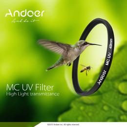Multi Coated Uv Filter Canada - Andoer 52mm Filter Ultrathin Multi-Coated MC UV Ultra-Violet Camera Filter Lens Protector for Canon Nikon DSLR