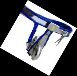 nouveau dispositif de ceinture de chasteté en acier inoxydable + Palm message + vibrateur Tougue en Solde