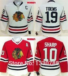 2c48e5b1a 2015 Chicago Blackhawks Hockey Jersey Womens Jonathan Toews Winter Classic  White Patrick Sharp Red Home Blackhawk Jersey Women