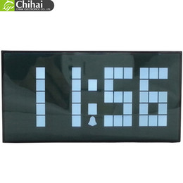 free shipping large electronic wall clock digital led backlight desk clock office decorations