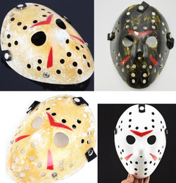 Discount freddy jason mask Freddy VS Jason Mask protective face CS Cosplay Killer Mask men women children film theme skull masks Party Halloween Fe
