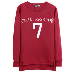 Thick Hoodie Women Canada - Sudaderas mujer 2016 New Style Hoodies Women Plus size Letter Printed Loose Sweatshirt Long sleeve Thick Woman Bottoming shirt