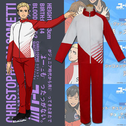 suits tv show NZ - 2017 cartoon ice yuri yuri plisetsky anime show clothes! ! ! Ice jacket pants Sports and leisure suits fashion men's school uniforms