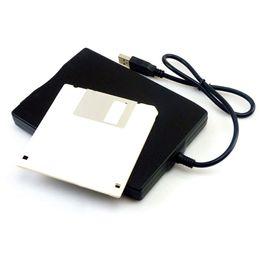 "Fdd Laptop NZ - Wholesale 10PCS LOT Hot 1.44Mb 3.5"" USB External Portable Floppy Disk Drive Diskette FDD for Laptop"