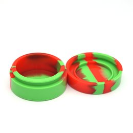 $enCountryForm.capitalKeyWord UK - 55mm*28mm Silicone Box Container for Dry Herb Wax Dab Nonsolid Color Wax Nonstick 22ml Silicone Jar