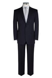 $enCountryForm.capitalKeyWord Canada - Real Image Wedding Groomsman Mens Suits 2015 Groom Tuxedos Black Best Man Suit Custom Made Formal Mens Suit Jacket+Pants+Tie+Hanky