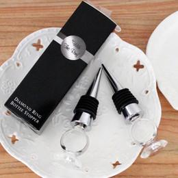 2016 nuevo tapón de botella de vino n abrir en caja blanca novia y el novio tapón de la botella fuentes del partido de boda favor regalo envío gratis