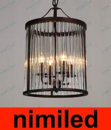 $enCountryForm.capitalKeyWord Canada - nimi570 RH Vintage Crystal Birdcage Chandelier Creative Restaurant Bar Villa Staircase Lights Study Room Pendant Lamp Droplight Lighting