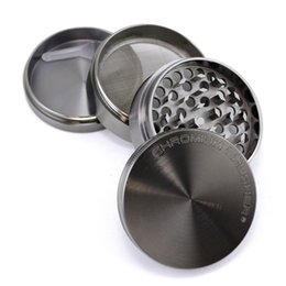 "2015 New Arrival New Ashtray Hookah Usb Lighter Chromium Crusher 2.0"" 4pc Premium Kitchen Spice Herb Pocket Grinder from kitchen herb grinder suppliers"