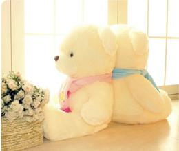 $enCountryForm.capitalKeyWord Canada - FG1511 Birthday Valentines Gift Scarf Baby Bear Wedding Plush Toy High Quality Teddy Bear Doll 2 Colors Size 30cm