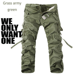 $enCountryForm.capitalKeyWord Canada - High Quality Fashion New Mens Uniform Army Cargo Long Pants Camo Combat Camouflage Trousers Plus Size14 Color new design Style Free Shipping
