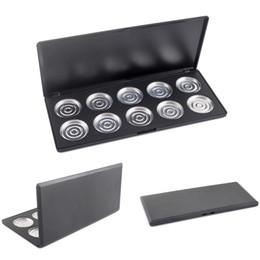 Empty Eyeshadow Pans UK - Wholesale- 10 PCS 36mm Empty Eyeshadow Aluminum Pans with Palette DTZE #4889