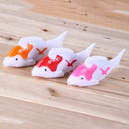 Jouets De Natation En Gros Pas Cher-Vente en gros - Robo Fish Shark Water Activated Magical Turbot Fish Electronic Pet Fish Toys Magic Swimming Fish Kids Christmas Gift