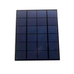 Wholesale solar panels 5W online shopping - 10Pcs W V DIY Polycrystalline Solar Cell Panel Mini PET Laminated Solar Cell Size mm for Solar Project and Research