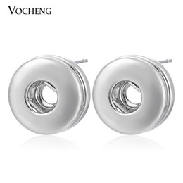 Chinese  Petite NOOSA jewelry 12mm Small Chunks Snap Button Earring DIY Noosa Jewelry(Ve-002) manufacturers