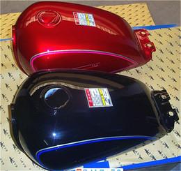$enCountryForm.capitalKeyWord NZ - GN125 HJ125-8 QJ125C Motorcycle Fuel Tank Motorbike Petrol Tank Gasoline Tank Thickened Steel Plate
