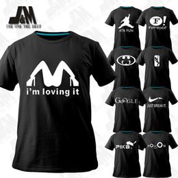 diy summer clothing 2019 - Wholesale-Novelty T-shirts new fasion men clothing 2015 summer original top desiner brand t shirts plus size cartoon log