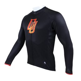 $enCountryForm.capitalKeyWord NZ - Wholesale-New Mens Long Sleeves Cycling Jersey Quick Dry Breathable Clothing For Daredevil Paladin Sport