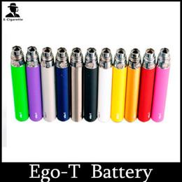 Ego T Ce5 Australia - Ego-t Battery E Cigarette 650 900 1100mah Ego Battery for 510 Thread Vaporizer mt3 CE4 CE5 CE6 ViVi Nova DCT atomizer Colorful