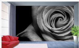 $enCountryForm.capitalKeyWord Canada - Custom photo wallpaper 3D European Black and white roses retro sofa backdrop 3d wallpaper 3d mural wallpaper 20157398