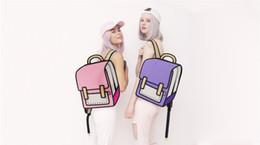 $enCountryForm.capitalKeyWord Canada - 2015 New hot sale 3D Comic cartoon Bags 3D Backpack Camera Bags 3d Gismo Cartoon Bags 3D Schoolbags For Shipping