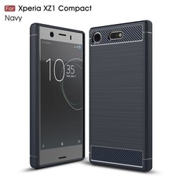 $enCountryForm.capitalKeyWord NZ - for sony xperia xz1 Compact goophone phone case Carbon Fiber Brushed Texture slim Hybrid Super rugged armor caus for google Pixel XL 2