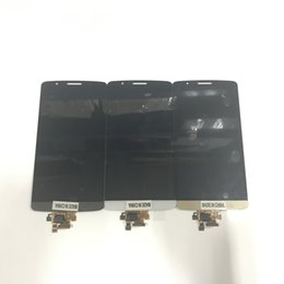 lg g3 parts 2019 - Original New LCD For LG G3 D850 D851 D855 VS985 LS990 lcd Touch Screen Replacement Parts DHL Free discount lg g3 parts