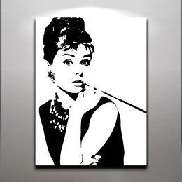 Audrey Hepburn Wall Art discount audrey hepburn canvas art | 2017 audrey hepburn canvas