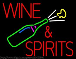 """Hot Bar Australia - Hot Wine And Spirits Neon Sign Commercial Sign REAL GLASS BEER BAR PUB DSICO KTV CLUB MOTEL STORE DISPLAY LIGHT SIGN 17""""X14"""""""