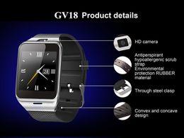 $enCountryForm.capitalKeyWord NZ - Waterproof Aplus GV18 Smart watch phone 1.55 inch GSM NFC Camera Wrist Watch SIM card Android Phones