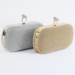 c1860e72e508 Shinny Bling Diamonds Gold Silver Bridal Hand Bags 2019 Hot Style Fashion Women  Clutch Bags Crystal For Party Evenings Formal Whole Sale