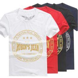 c2e8ea148acba 8 Colors Robin Jeans Mens T-Shirts Short Sleeve Shirts Summer Men s Robin Short  Tees Tops CCA8369 5pcs