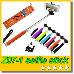 $enCountryForm.capitalKeyWord Canada - Retail box Z07-1 Selfie stick Handheld Monopod + Clip holder for Cell Phone Action Camera Sport DV