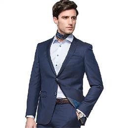 Discount Men Office Suits Grey | 2017 Men Office Suits Grey on ...