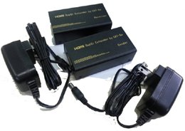 tow cable UK - HDMI extender 60M over Cat5e CAT6 cable - up to with transmitter&receiver and tow power adapter
