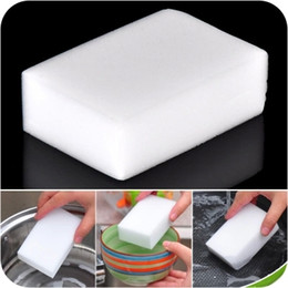 magic sponges Canada - Free Shipping Gray Magic Sponge Eraser melamine cleaner,multi-functional Cleaning 100x60x20mm Wholesale Retial TY302